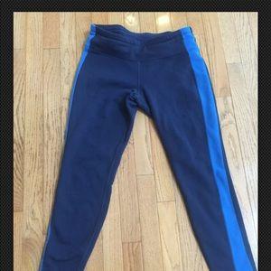 Athleta Fleece Lined Athletic Pants Size M